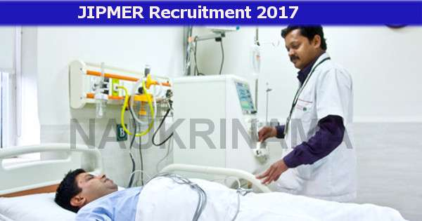 Dialysis Technician Job Openings in JIPMER - Naukri Nama | DailyHunt