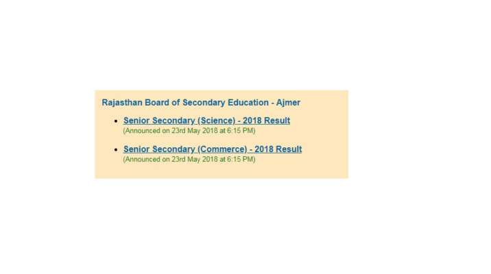 Bser class 12 science commerce results 2018 declared at rajeduboard bser class 12 science commerce results 2018 declared at rajeduboardrajasthan rajasthan class 12 results 2018 passing percent malvernweather Image collections