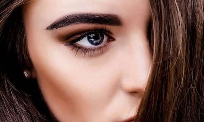 Girls With Light Eyebrows, Try These Easy Tricks To Darken Them ...